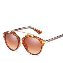Unisex fashion vintage Square Sunglasses women men brand des