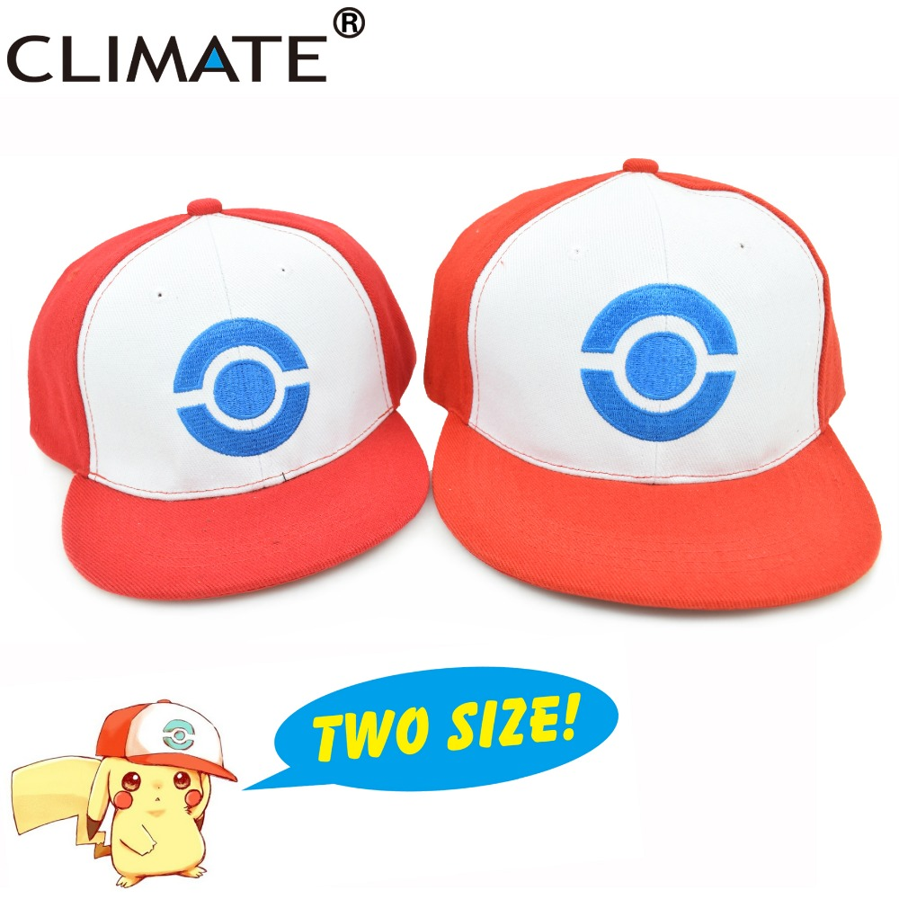 CLIMATE 2017 New Pocket Monster GO Pikachu Family Cosplay Snapback Caps Hat Adult Kid Mom Dad Child Family Cartoon Funny Caps funny fishing game family child interactive fun desktop toy
