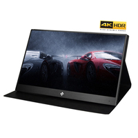New 15.6 Inch 4K Monitor HDR 3840X2160 IPS HDMI Type C Screen Display Portable 60FPS Video Gaming Monitor for PS4 Pro/XBOX One X