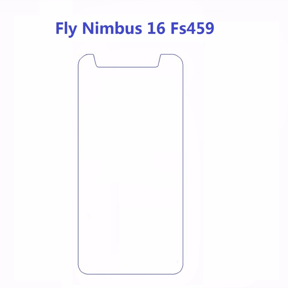 1pcs For Fly Nimbus 16 Fs459 Front Tempered Glass Screen Protector 2.5 9H Safety Protective Glass On Nimbus16 Fs 459 4.5Inch image