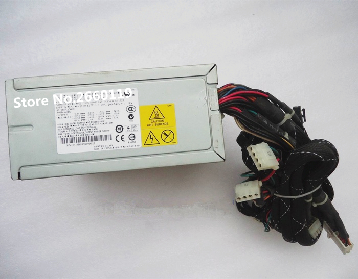 Power supply for DPS-600MB Z 600W working well power supply for dps 500gb b 500w 1u well tested working