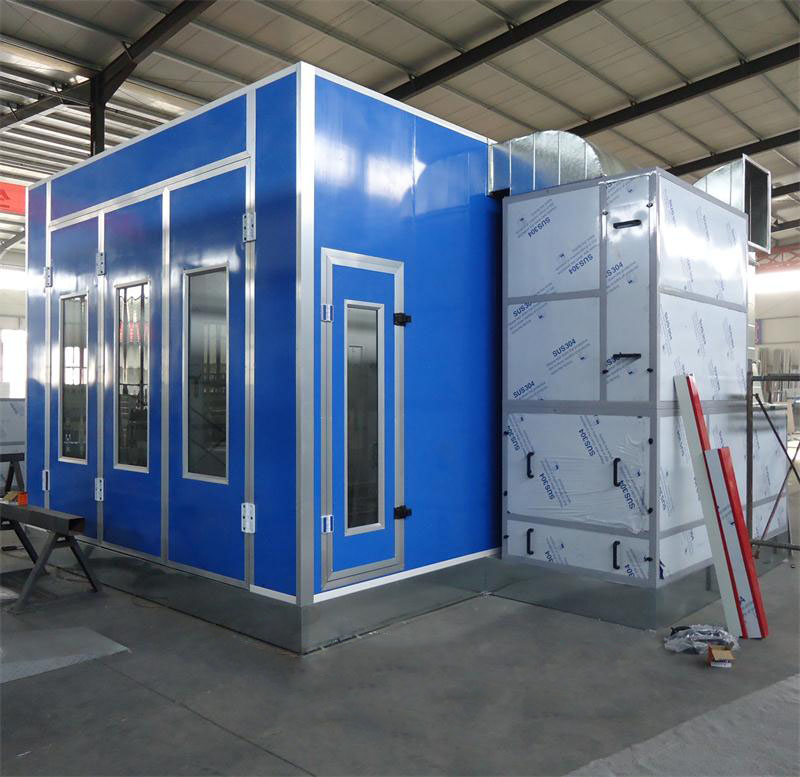 High Quality Spray Booth Electric Heating Type Standard