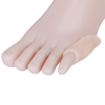 100pc Little Toe Bunion Protector Hallux Valgus Bunion Last Toe Silicone Gel Separator 50pairs/lot
