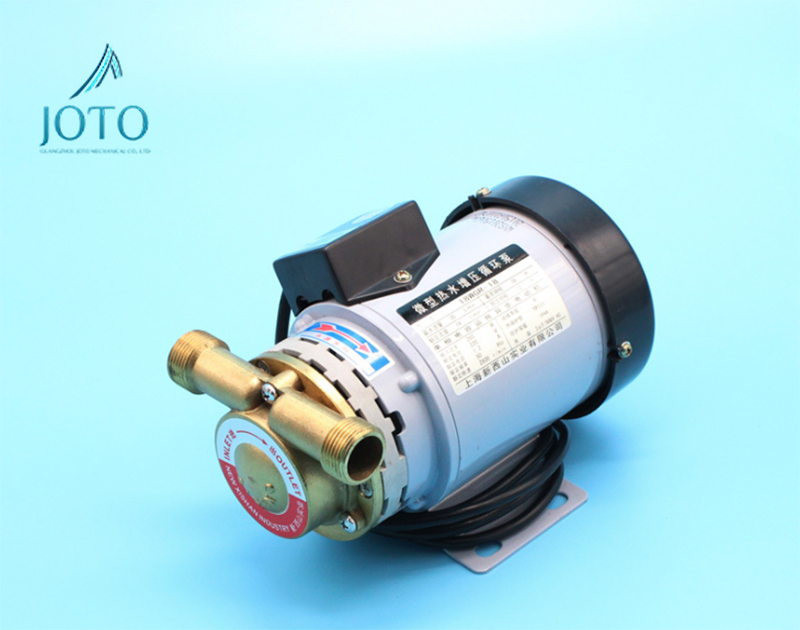 Quiet 110 Celsius Degree Stainless Steel Automatic Hot Water Booster Pump 220V Hot Water Circulation 100w 220v shower booster water pump