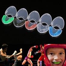 Защита рта для взрослых, защита зубов, Силиконовая Защита зубов, Защита рта для взрослых, для бокса, спорта, баскетбола, футбола, хоккея
