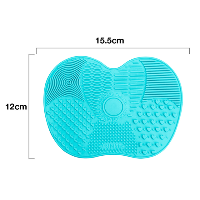 Silicone Makeup Brush Cleaner Mat Washing Tools Cosmetic Make up Eyebrow Brushes Cleaning Pad Scrubber Board Makeup Cleaner Tool 5