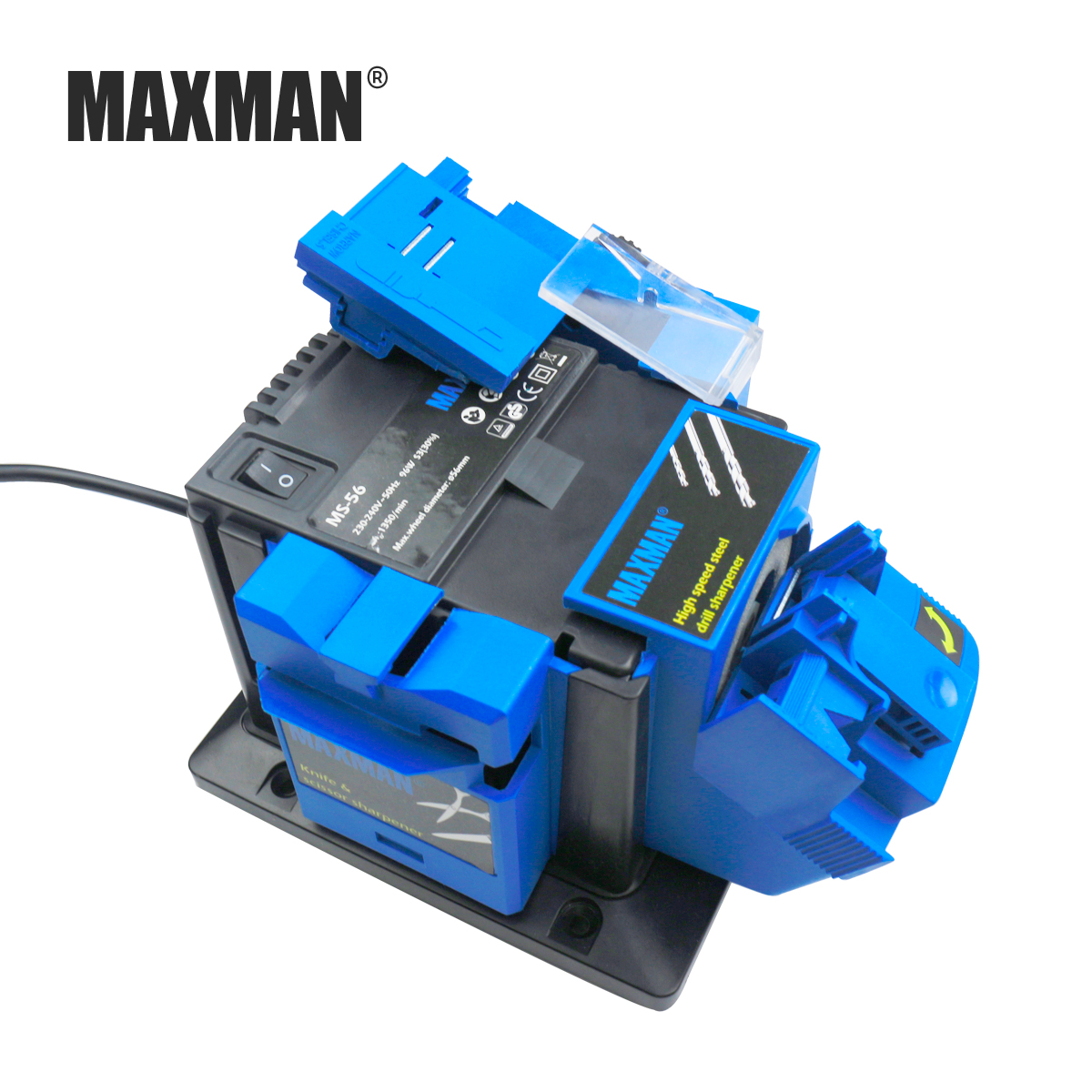MAXMAN Professional Electric Knife & Scissors Sharpener Chisel & Plane & HSS Drill Sharpening Machine for Kitchen Knives Tool portable electric knife tool drill sharpener sharpening drill adjustable multitool knife sharpener sharpening tool power tool
