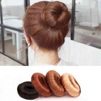 Japón y Corea del Sur Donuts cabeza de princesa albóndigas platos Edad de flores accesorios para el cabello herramientas para el cabello accesorios de tocado