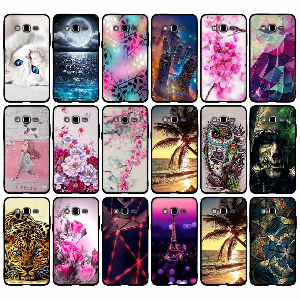Luxury Painting Case For Coque Samsung Galaxy Grand Prime Case G530 G530H G531 G531H G531F SM-G531F Phone Case Soft Rubber Cover