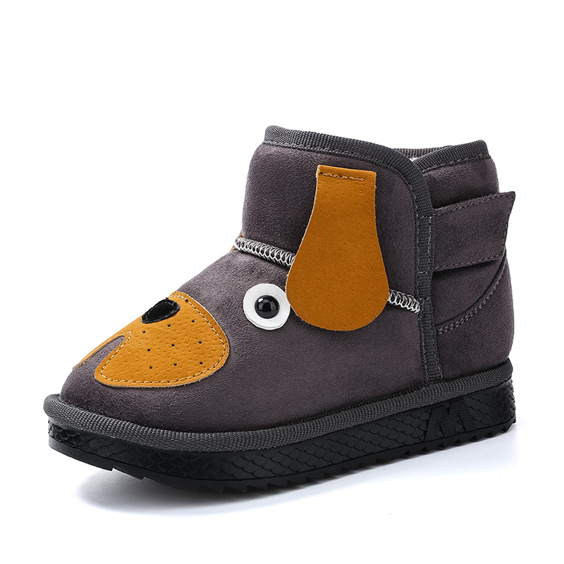 Goede Kids Snow Boots Cartoon Puppy Boys Girls Winter Boots Ankle High UF-58