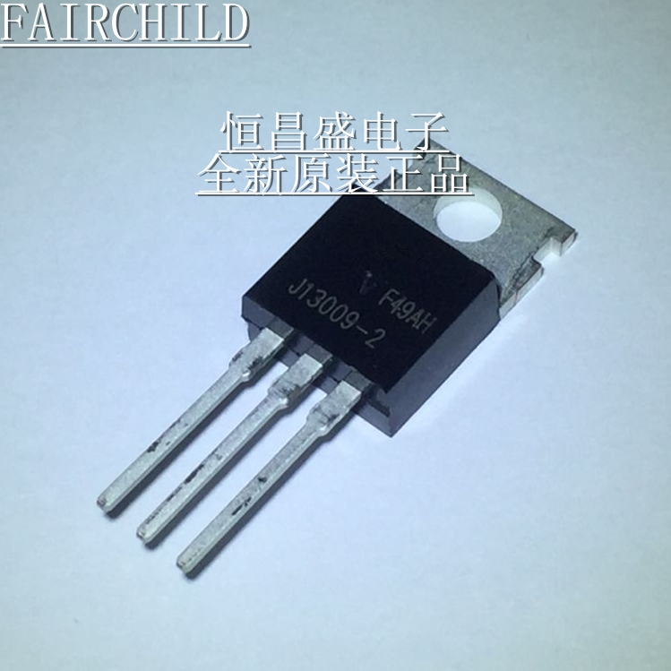 10pcs/lot FJP13009H2TU 13009 J13009-2 FJP13009 TRANSISTOR NPN 400V 12A TO-220 NEW In Stock