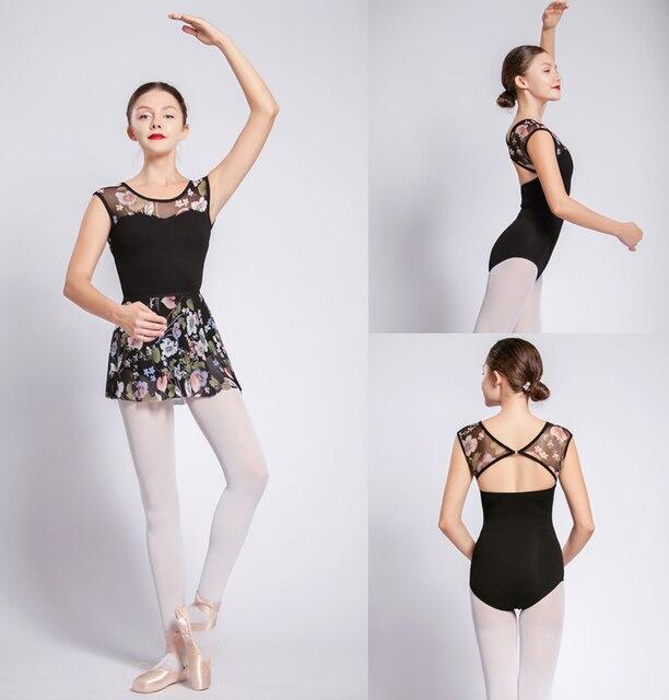 Ballet Dance Leotards Women High Quality Cotton Gymnastics Dancing Costume  Adult Cheap Ballet Leotard Girls Dance b77b5a151