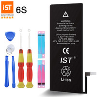 100 IST Original Mobile Phone Battery For IPhone 6S Real Capacity 1715mAh With Repair Tools Kit
