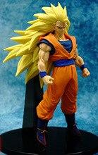 NEW 1pcs 20CM pvc Japanese anime figure Dragon ball Super Saiyan Son Goku action figure collectible model toys brinquedos