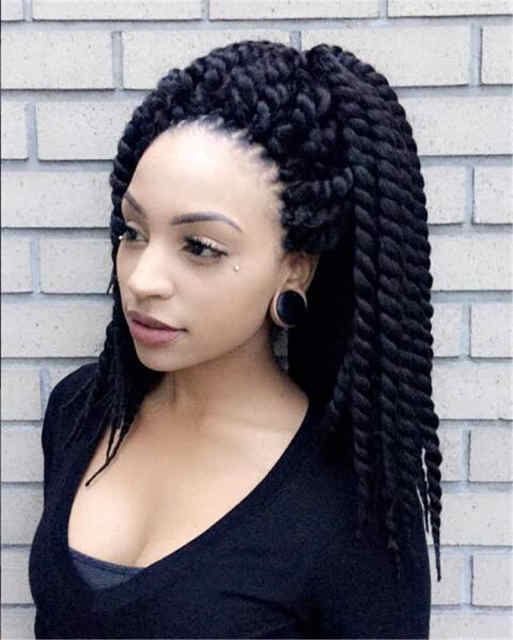 ... Crochet Braid Hair American Synthetic Extensions African Braiding