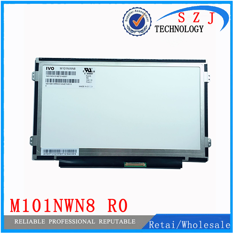 New 10.1 inch case M101NWN8 R0 LCD display Screen Panel For LENOVO IDEAPAD A10 WXGA HD 1366X768 Slim Free shipping free shipping new 13 3 lcd led screen display slim panel matrix lp133wh2 tla2 ltn133at16 for dell latitude e6320 e6330 wxga hd