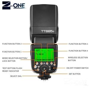 Image 5 - Godox TT685N 2.4G HSS 1/8000 s i ttl GN60 אלחוטי Speedlite פלאש עבור ניקון עבור D800 d700 D7100 D7000 D5200 D5000 D810 + מתנה