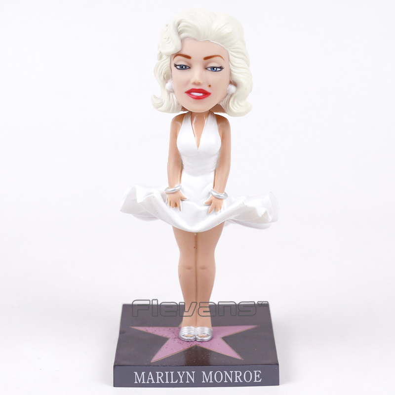 Marilyn Monroe Bobble Head Doll Vinyl Action Figure Collection Toy-in Action & Toy Figures from Toys & Hobbies