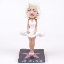 Marilyn poupée, tête de poupée Monroe, figurine daction, en vinyle, jouet de Collection