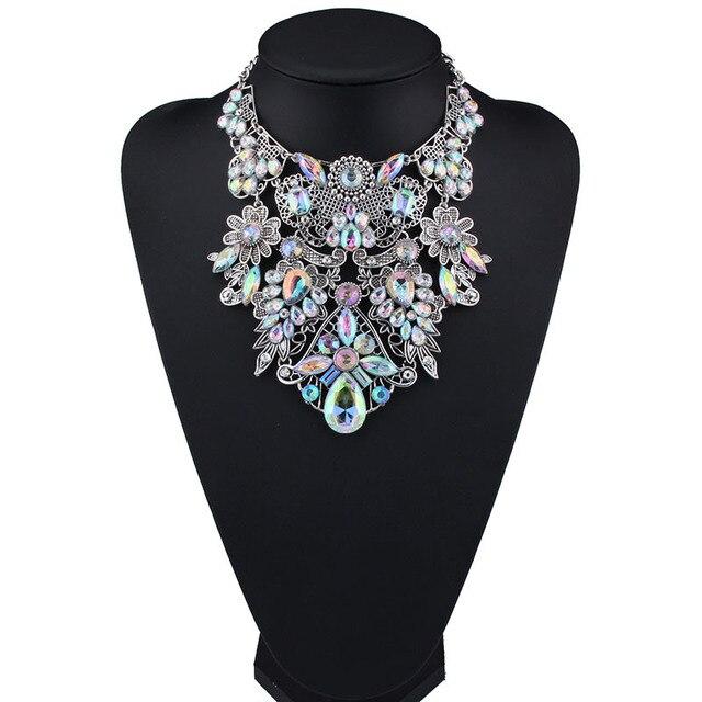 Женский чокер mydaner разноцветное богемное ожерелье с массивным