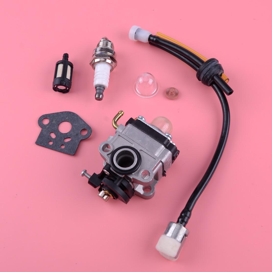 LETAOSK Carburetor Air Filter Spark Plug Tune Up Kit 753-04296 753-04745 Fit For Shindaiwa T230 LE230 S230 TCX230 X230 F230 C230