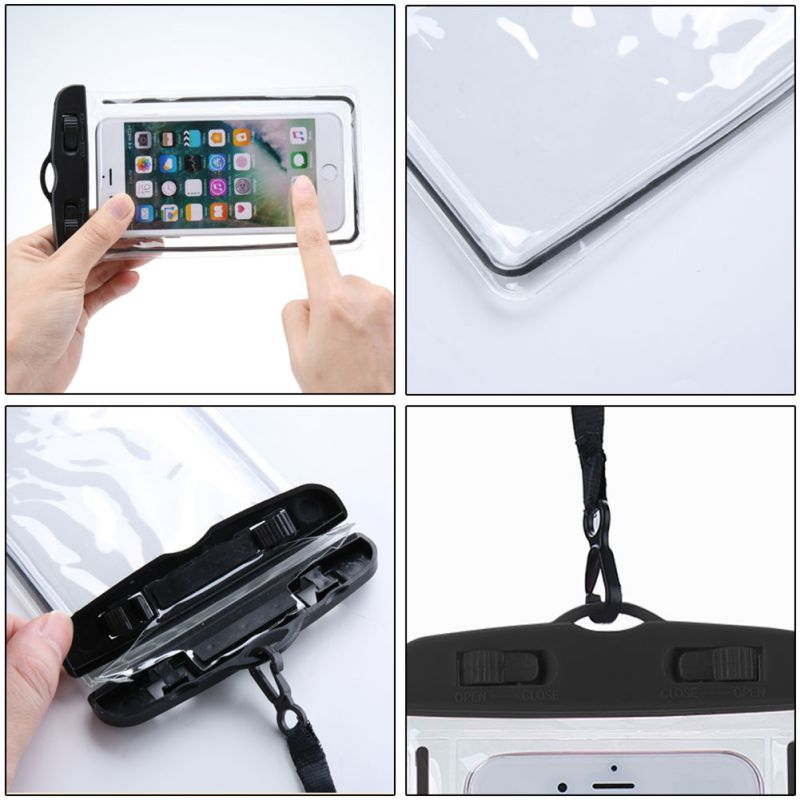Waterproof Mobile Phone Case iPhone Samsung Huawei