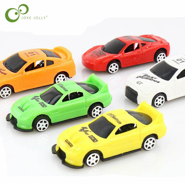 5pcs/lot Pull Back Car Toys Car Children Racing Car Baby Mini Cars Cartoon Pull Back Kids Toys For Children Boy Gifts WYQ