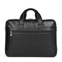 Men's Genuine Leather Casual Briefcase Handbag Men's Travel Bag Leather Messenger Bag Business Shoulder Computer Notebook Bag
