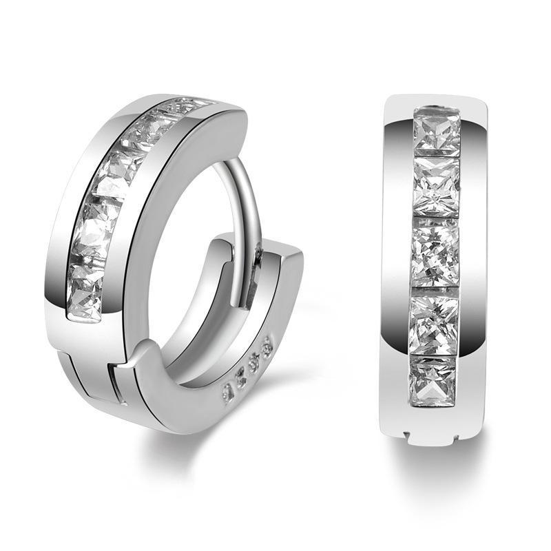 Sterling-sølv smykker pendientes mujer øreringe 925 brincos plata - Mode smykker - Foto 3