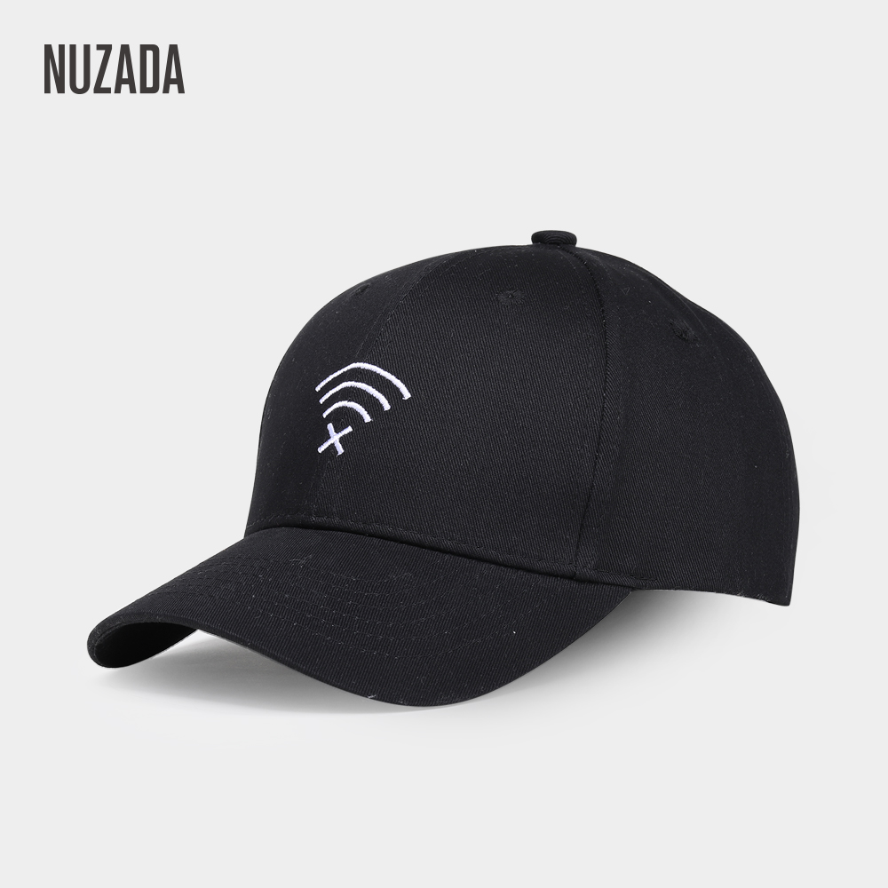 NUZADA Solid Color Men Women Couple   Baseball     Cap   Bone Cotton Embroidery Snapback   Caps   Spring Summer Autumn Hats Quality