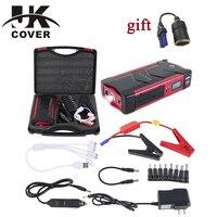 JKCOVER Multi Function Mini Portable Emergency Battery Charger Car Jump Starter 18000mAh Booster Power Bank Starting