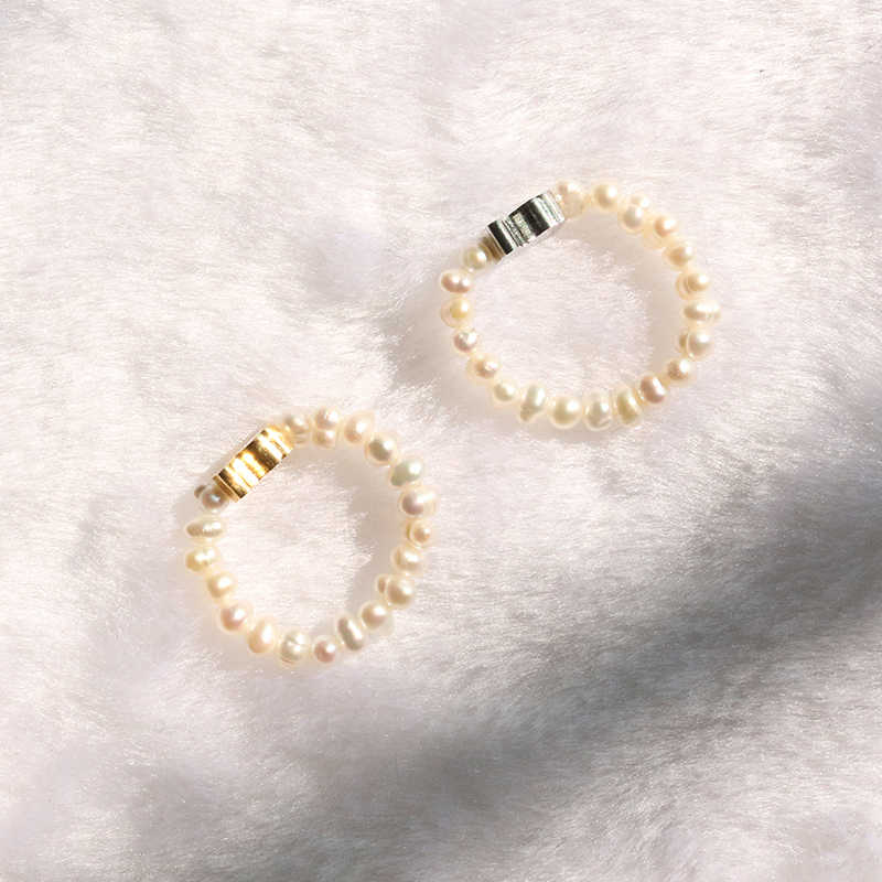 M4 Small Freshwater Pearls Ring, Fashion Pearls Ring, Cute And Lovely Jewelry, Beads Ring, A Beautiful Christmas Gift For You