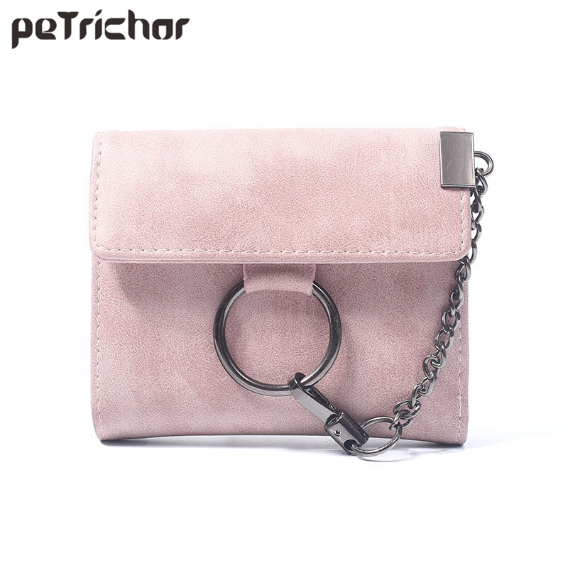 Short Wallet Women Hasp Vintage Purse Woman Card Holder Small Money Purses Coin Pocket PU Ladies Mini Bags Bolsas Feminia casual weaving design card holder handbag hasp wallet for women
