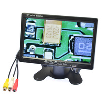 HD 800x480 7 Inch LED TFT LCD Monitor 7 LED Backlight Display Stand Mount Monitor Remote