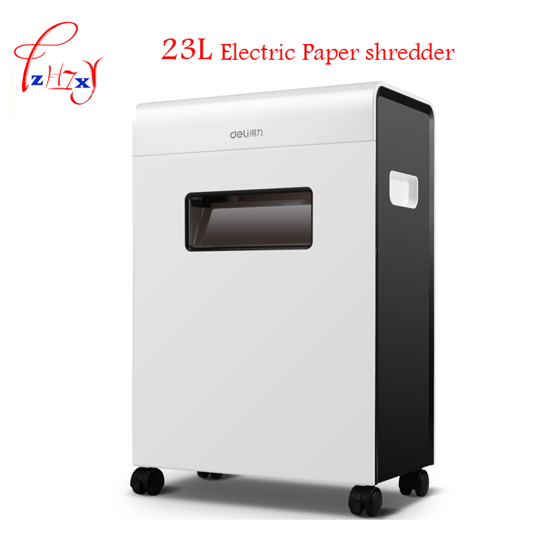 Automatic Electric Paper shredder office 23L volume Paper shredder Drawer type 9903
