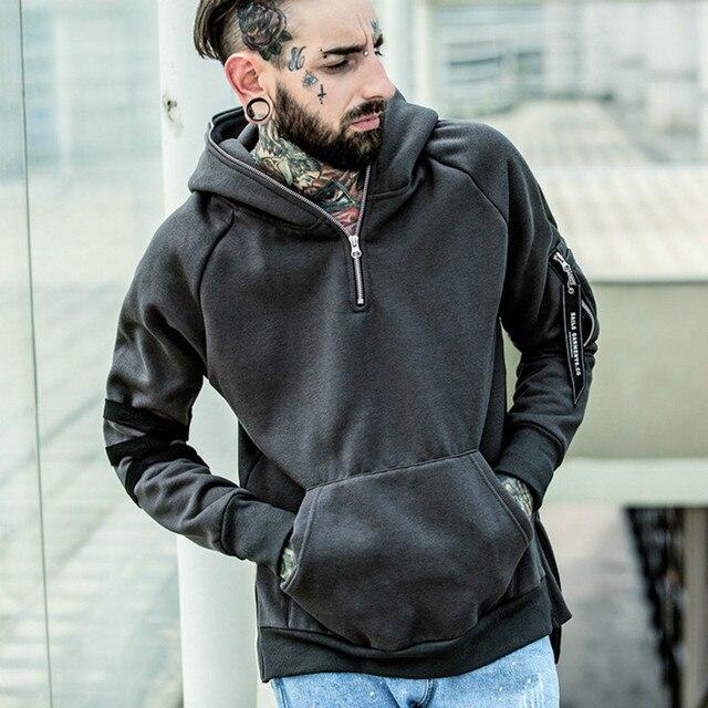 2016 осень и зима модели моды взрыва мужские и мальчиков моды хит цвет толстовка с капюшоном куртки с прохладной R998