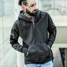 2016 herbst und winter mode explosion modelle männer und jungen mode hit farbe hoodie jacke mit kühlen R998