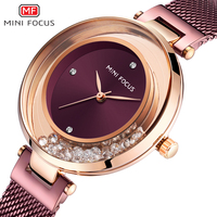 Ladies Watch MINIFOCUS Watches Women Quartz Lady Wrist Watch Dress Women's Wristwatch Brand Luxury Fashion Relogio Feminino