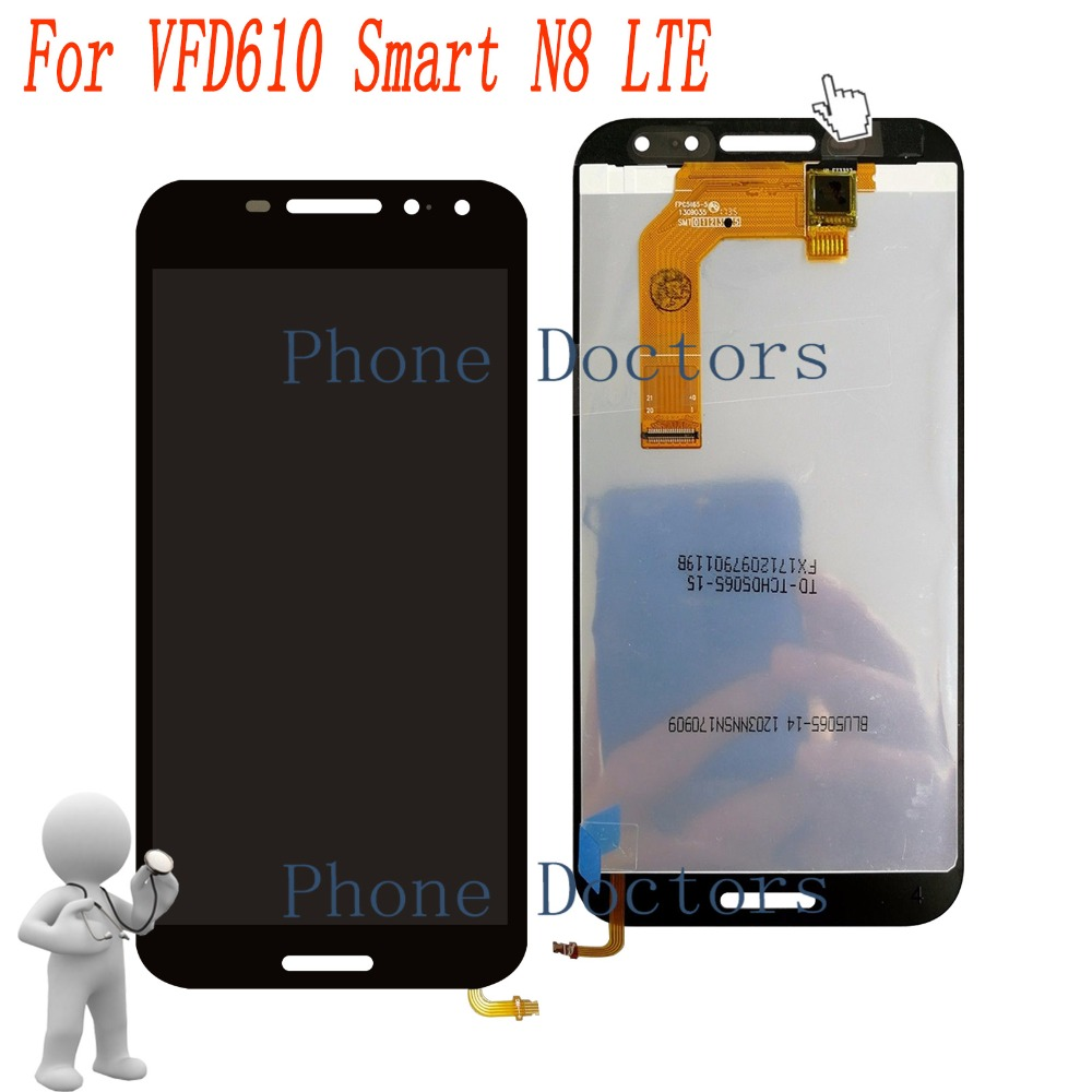 "5.0 ""Full ЖК-дисплей дисплей + Сенсорный экран планшета Ассамблеи для Vodafone VFD610 Smart N8 LTE VFD-610"