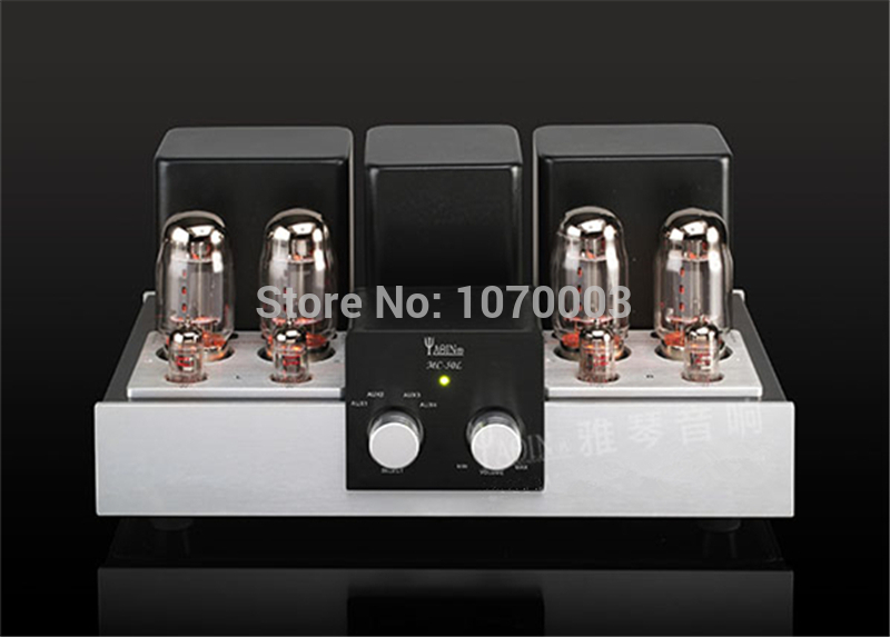 YAQIN MC-50L Integrated Vacuum Tube Amplifier SRPP Circuit KT88(6550) Ultra-linear Class AB1 Power Amplifier 2x50W 110V~220V