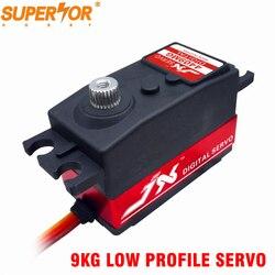JX  Servo PDI-4409MG 9KG Short Servo Digital Standard Servo 1/8 1/10 RC car LOW PROFILE Metal Gear 3racing 3R SAKURA D4 CS