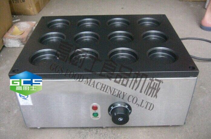 Free shipping 220v-240v 12 hole Layer cake machine red bean cake maker Hamburg maker