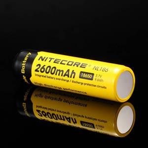 Image 4 - Ban Đầu Nitecore NL1826 2600MAh 18650 3.7V Max 2A 18650 Pin Sạc Li ion (NL186) Cho Đèn LED