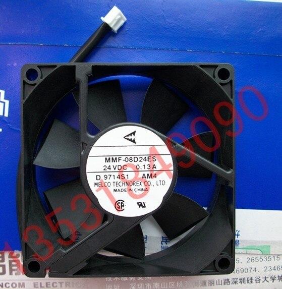 New Original Nidec Inverter fan for Yaskawa MMF-08D24ES AM4 24V 0.13A 80*80*25MM dhl ems 1pcs original for yaskawa a1000 inverter cimr ab4a0031faa