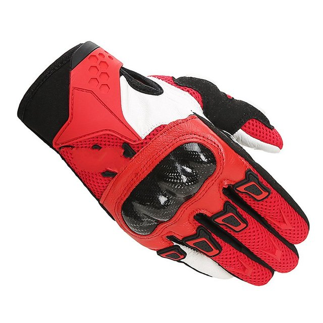 TCV05 Genuine motorcycle outdoor riding leather gloves carbon fiber protective shell