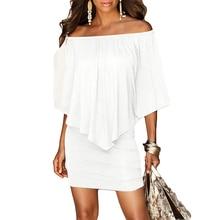 Hot Dresses Brand Liooil Mini Dress 2018 Summer Style