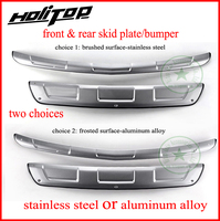 for Chevrolet Trax skid plate bumper protector/guard,front&rear,2pcs/set,stainless steel or aluminum alloy,free shipping to Asia