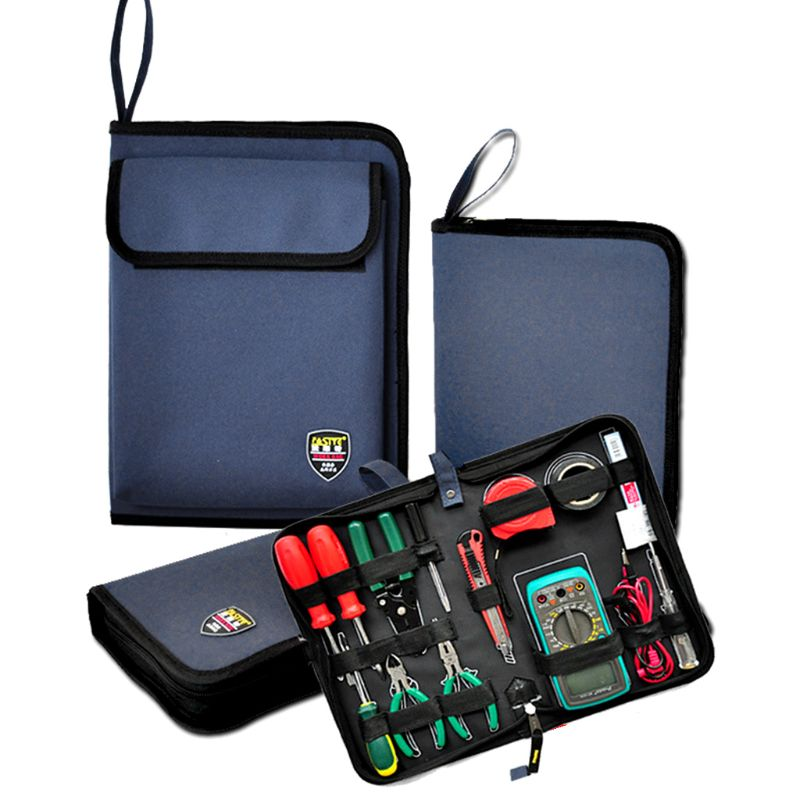 Bag Pocket-Organizer Storage-Case Oxford Multifunctional Professional Electricians Waterproof