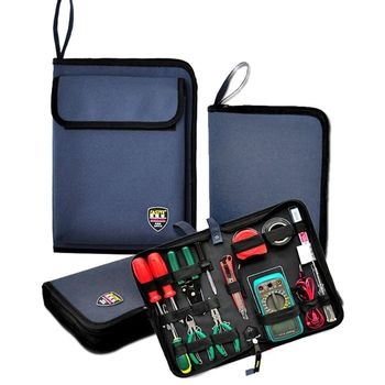 Professional Electricians Hard Plate Tool Kit Bag Storage Case Multifunctional Pocket Organizer Waterproof Oxford 3 Sizes - discount item  25% OFF Tools Packaging