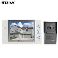JERUAN 8 дюймов видео-телефон двери дверной звонок домофон видео домофона динамик громкой связи интерком запись фото принимая